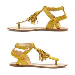 10 Sole Society PANDORA Sunflower Tassel Sandals